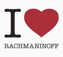I ♥ RACHMANINOFF Kids Clothes