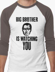 BIG BROTHER IS WATCHING YOU Men's Baseball ¾ T-Shirt