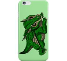 Emerald the Baby Dragon iPhone Case/Skin