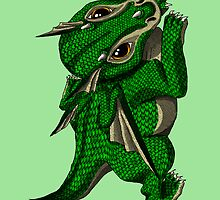 Emerald the Baby Dragon by Becky Pike