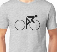 Riding Figure (Black) Unisex T-Shirt