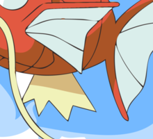Magikarp Splash Sticker
