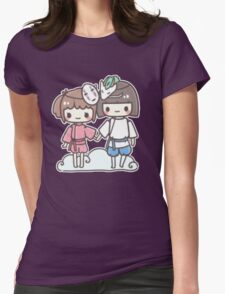 Spirited Away - Studio Ghibli Womens Fitted T-Shirt