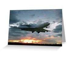 Vickers VC-10 XR808 Greeting Card