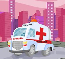 Ambulance (Ground Vehicles) by alapapaju