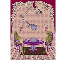 Deathly Tea Time Photographic Print