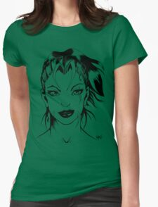 Lady Vixen - Portraiture Womens Fitted T-Shirt