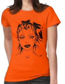 Lady Vixen - Portraiture Womens Fitted T-Shirt