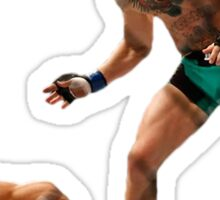 Conor McGregor Knocks Out Jose Aldo (base) Sticker
