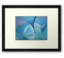 Swimming in the Mediterranean Sea 2 Framed Print