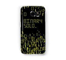 The human's are dead: Binary Solo Samsung Galaxy Case/Skin