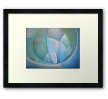 Swimming in the Mediterranean Sea 4 Framed Print
