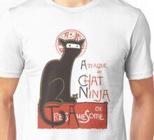 A French Ninja Cat (Le Chat Ninja) Unisex T-Shirt