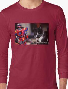 Bill V's Machine Long Sleeve T-Shirt