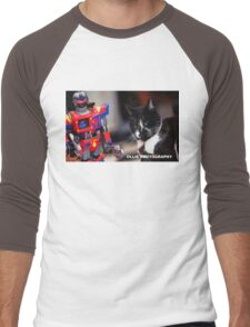 Bill V's Machine Men's Baseball ¾ T-Shirt