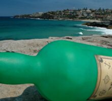 One Green Bottle @ Sculptures By The Sea Sticker