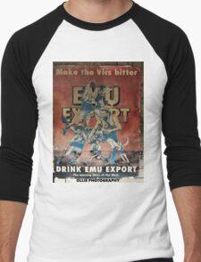 BUD MAN Men's Baseball ¾ T-Shirt