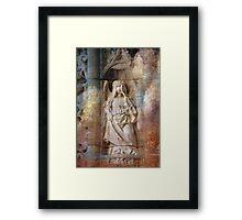 Anjo da Música Framed Print