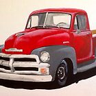 1954 Chevrolet Pick-up Truck by sidfox