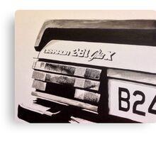 Mk.2 Ford Granada 2.8i Ghia X Canvas Print