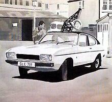 'Minder' Mk.2 Ford Capri 2.0s by sidfox