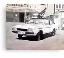 'Minder' Mk.2 Ford Capri 2.0s Metal Print