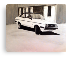'The Professionals' Ford Escort RS2000 Canvas Print