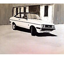 'The Professionals' Ford Escort RS2000 Photographic Print