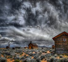 Old Fort Rock by Charles & Patricia   Harkins ~ Picture Oregon