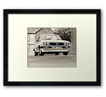 'The Professionals' Mk.3 Ford Capri 3.0s Framed Print