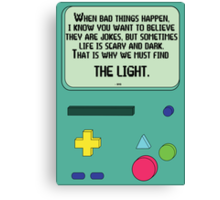 BMO Quote Canvas Print
