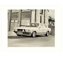'The Sweeney' Mk.2 Ford Granada 2.8iS Art Print