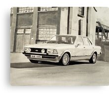 'The Sweeney' Mk.2 Ford Granada 2.8iS Canvas Print