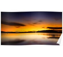 Lake Lanier Sunrise II Poster