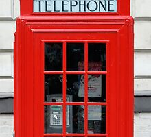 London Telephone Booth / Box by Grinned