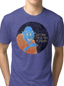 The Demon Storyteller Tri-blend T-Shirt