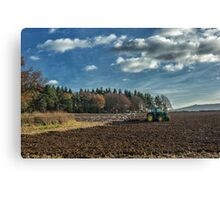 Following the Plough Canvas Print