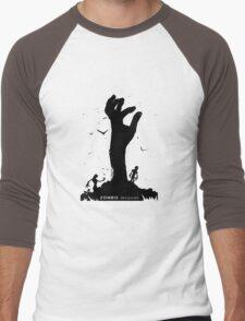 Zombie Hand Men's Baseball ¾ T-Shirt