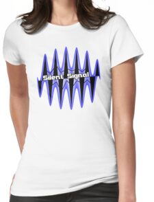 Silent Signal Womens Fitted T-Shirt