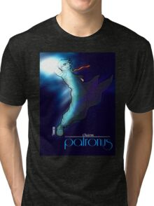 Harry Potter, Patronus, Charm, Hogwarts, Gryffindor, Azkaban Tri-blend T-Shirt