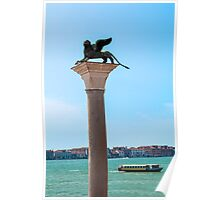Lion of Saint Mark, Venice. Poster