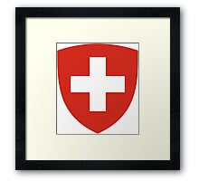 Coat of Arms of Switzerland  Framed Print