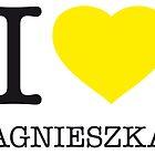 I ♥ AGNIESZKA by eyesblau