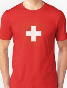 Coat of Arms of Switzerland  Unisex T-Shirt