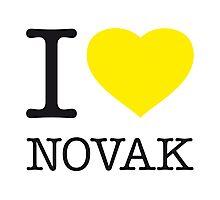 I ♥ NOVAK Photographic Print