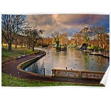 The Boating Lake Poster