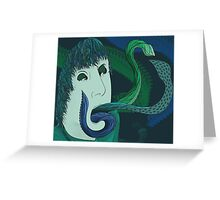 Possessed Tentacles Greeting Card
