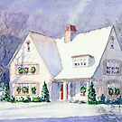 Welcome Home ( Snowy Christmas Eve Day ) by COusley622