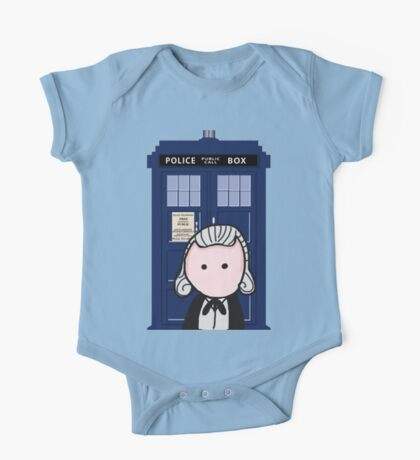 The 1st Doctor One Piece - Short Sleeve
