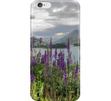 Queenstown Through Lupin and Lythrum iPhone Case/Skin